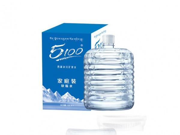 西藏冰川�@���V泉水 家※庭桶�b水 12L*1桶 天然弱�A性�缢�