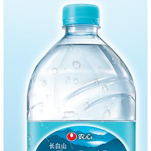 农心白山水天然饮用纯净水母婴水